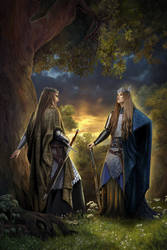 Celeborn and Thranduil