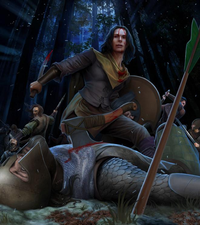 Asha Greyjoy by steamey
