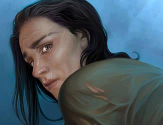 Theon Greyjoy. Work in progress by steamey