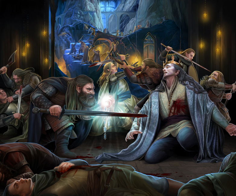 [Imagem: death_of_thingol_by_steamey-d8xghim.jpg]