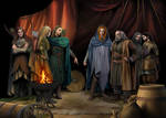Finrod, Beor and the Green-elves of Ossiriand