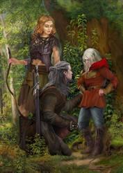 Sword of Destiny by steamey