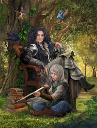 Blood of Elves / Chapter 7 by steamey