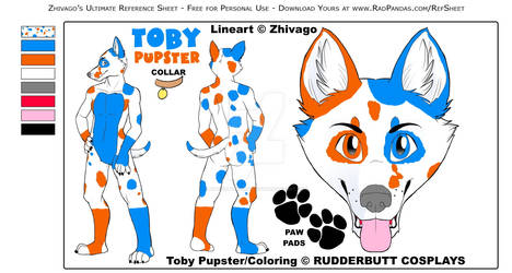 Toby Pupster - Ref. Sheet