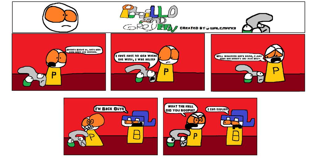 Phillo and Greyeen: Where's Boopie? by Waltman13