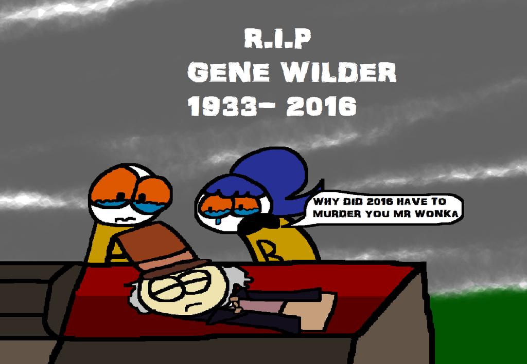 R.I.P. Gene Wilder by Waltman13