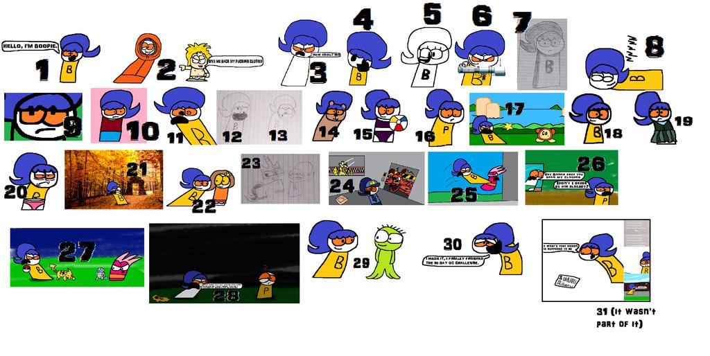 Boopie 30 Day OC Challenge by Waltman13