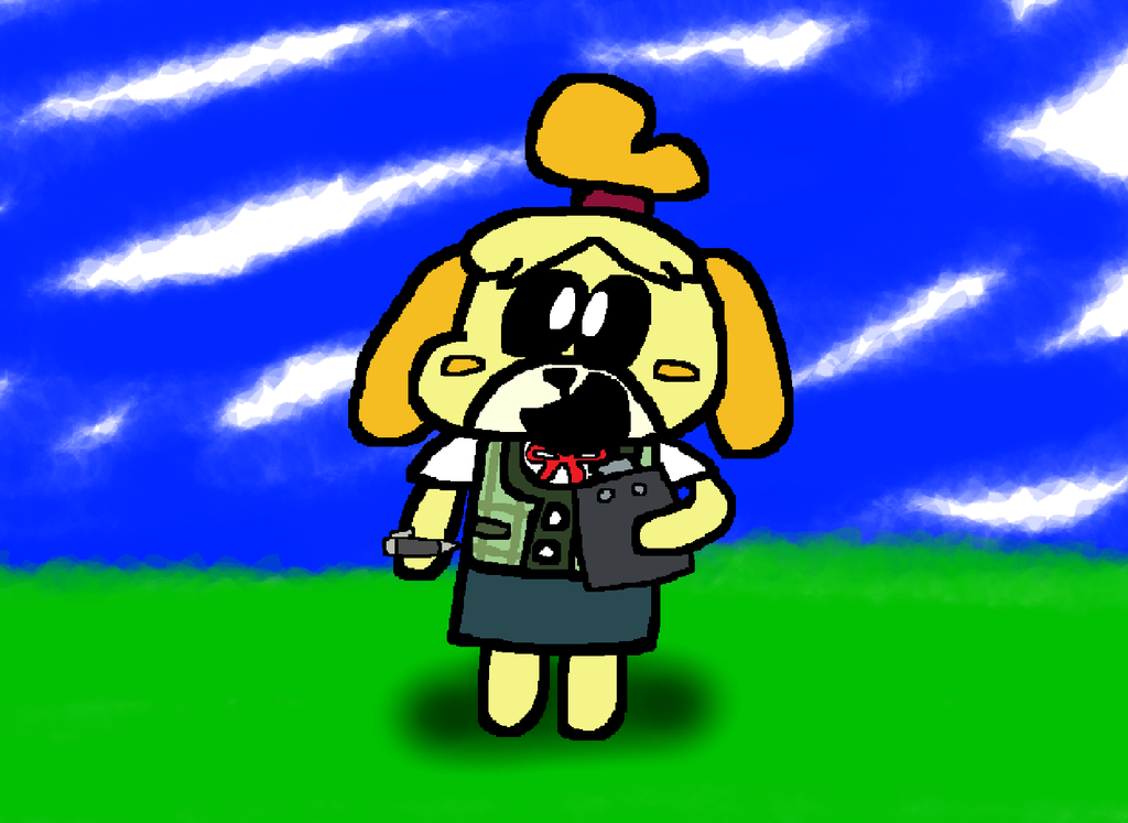 Isabelle from Animal Crossing by Waltman13