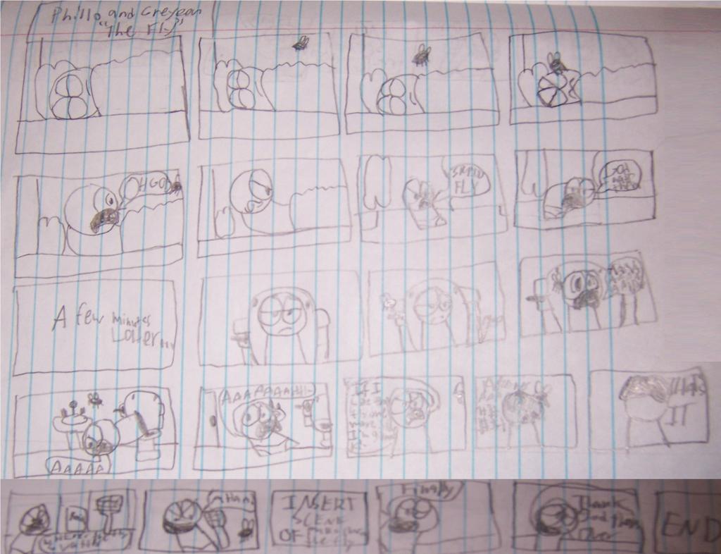 Phillo and Greyeen Comic 3 (Traditional Version) by Waltman13