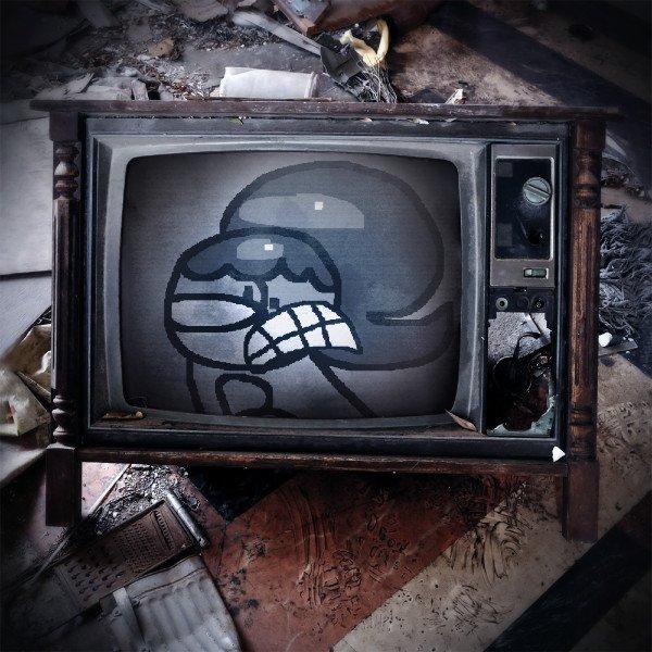 Boopie gets stuck in a TV by Waltman13