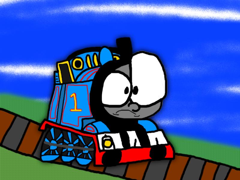 IT'S THOMAS THE F*CKING TANK ENGINE by Waltman13