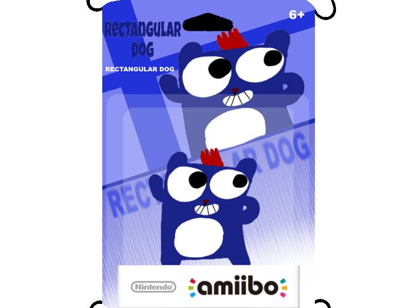 Rectangular Dog Amiibo by Waltman13