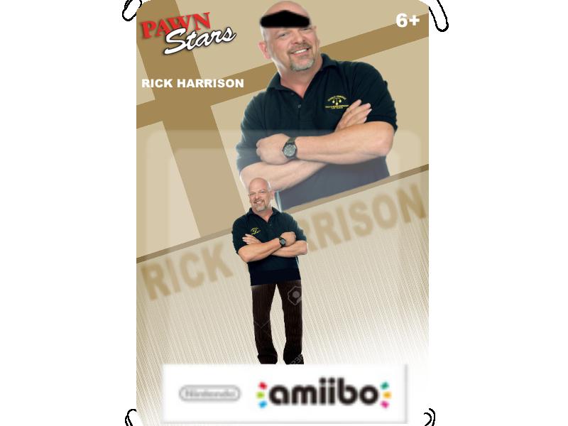 Rick Harrison Amiibo by Waltman13