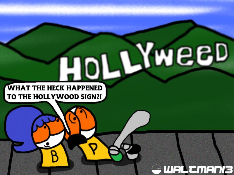 Hollyweed by Waltman13