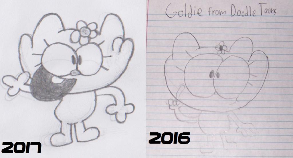Goldie Today vs Last Year by Waltman13