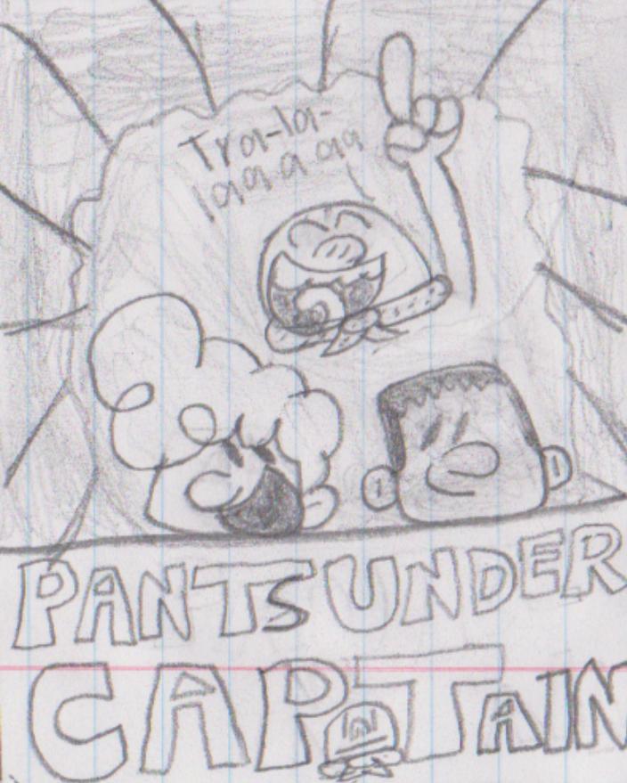 Pants under your captain by Waltman13