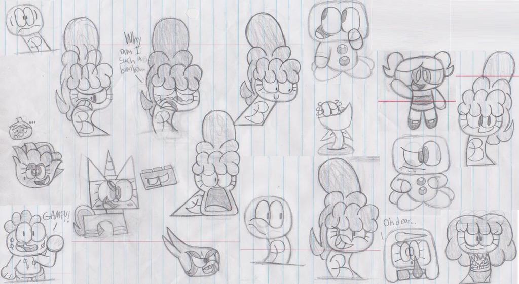 Bunch of Doodles by Waltman13