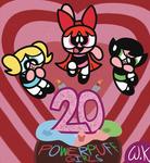 Powerpuff Girls 20th Anniversary