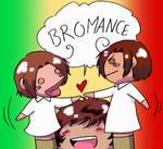 Hetalia - Italian Bromance