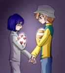 Digimon02 - Takeken mutual understanding