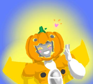 TF - Sunstorm - Be My Shiny Pumpkin by Cloud-Kitsune