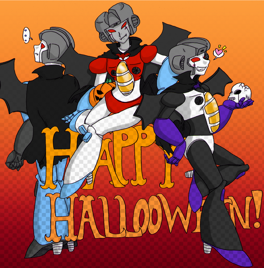 TF - Seeker Elite Happy Halloween! by Cloud-Kitsune