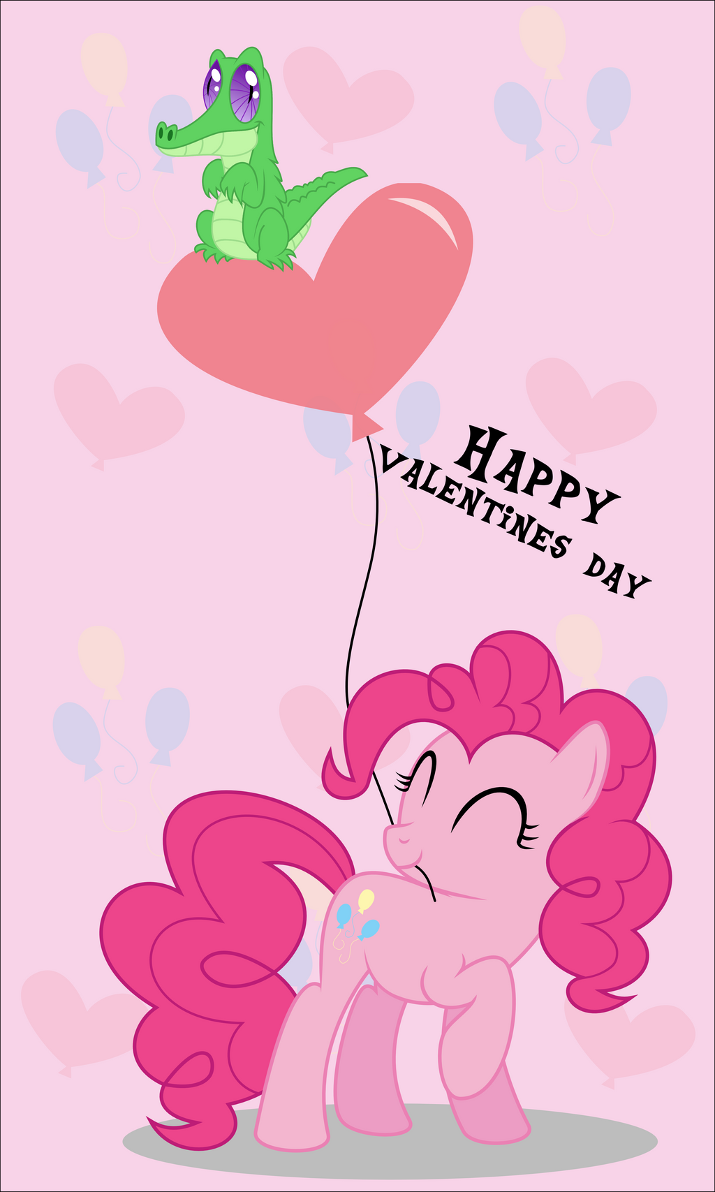 Pinkie loves Gummy by oOBrushstrokeOo