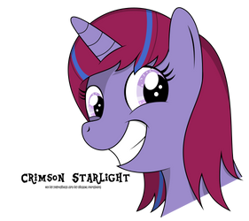 Crimson Starlight Request by oOBrushstrokeOo