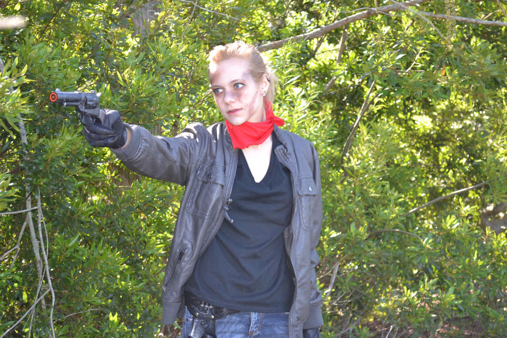 Andrea (TWD Comics) Cosplay 3 by Radscorpion on DeviantArt
