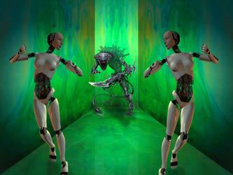 Alien Run by Melanie-Howle-H