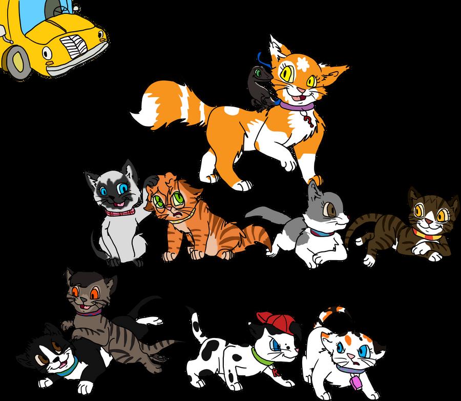 Magic School Bus Png Magic School Bus Kittens by
