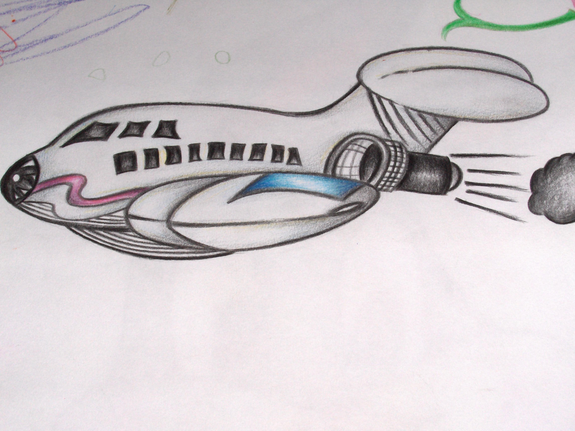 Mis- Aeroplane by JasChester