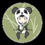 Kiriban - Chibi Panda Hugo