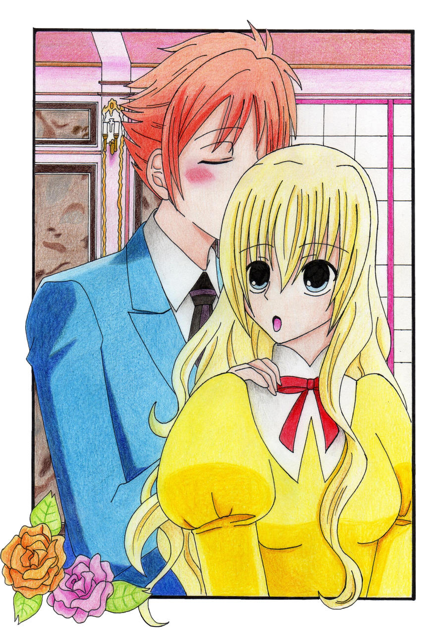 Ouran OC: KaoruxHanako Little Kiss by Jusace