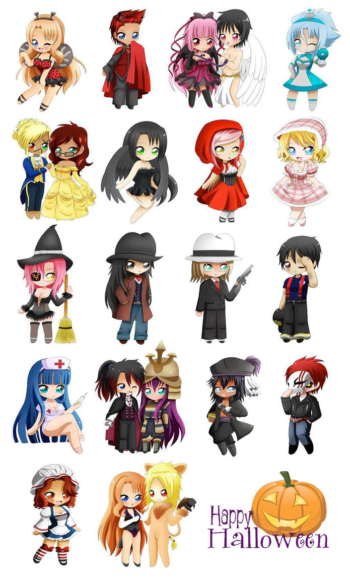 BigC: Chibi Halloween Project!! by Jusace on DeviantArt