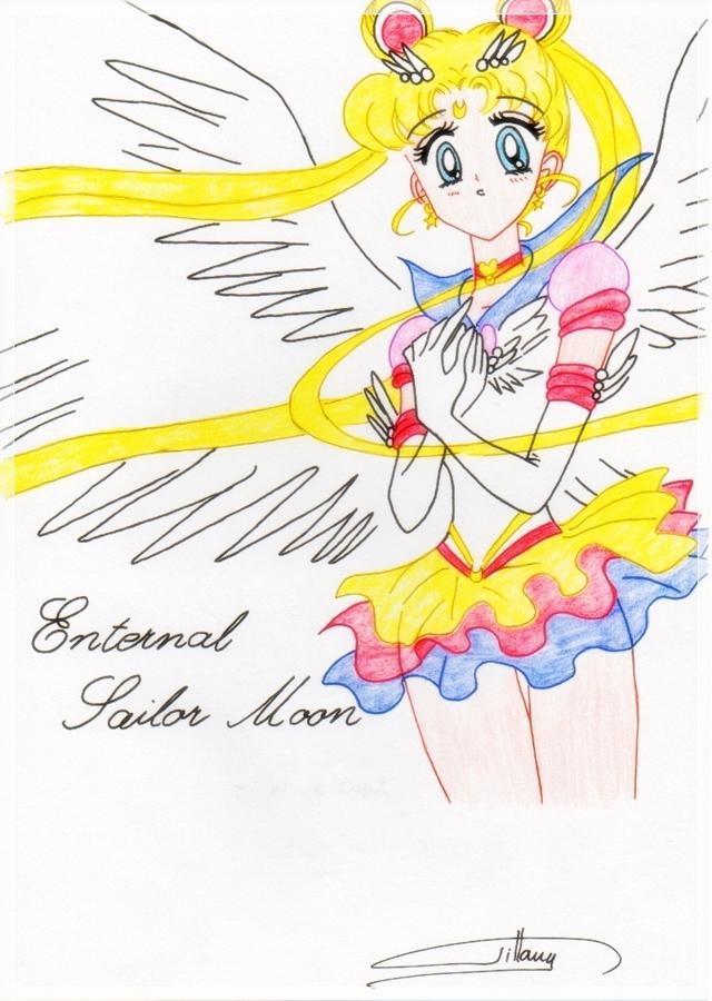 Eternal Sailor Moon by selinmarsou