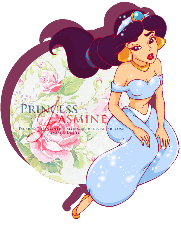 :  Princess Jasmine  : by selinmarsou