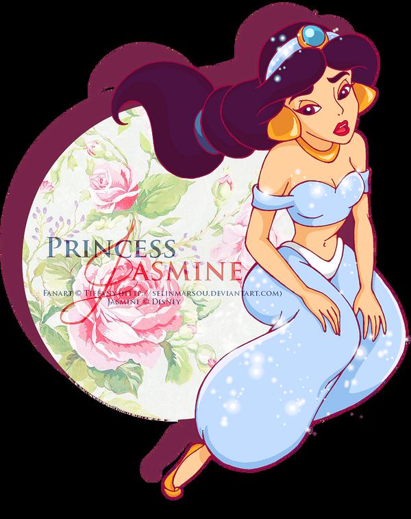 :  Princess Jasmine  : by selinmarsou