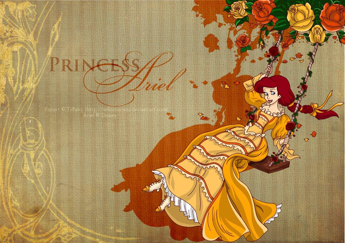 Princess Ariel - Swing by selinmarsou
