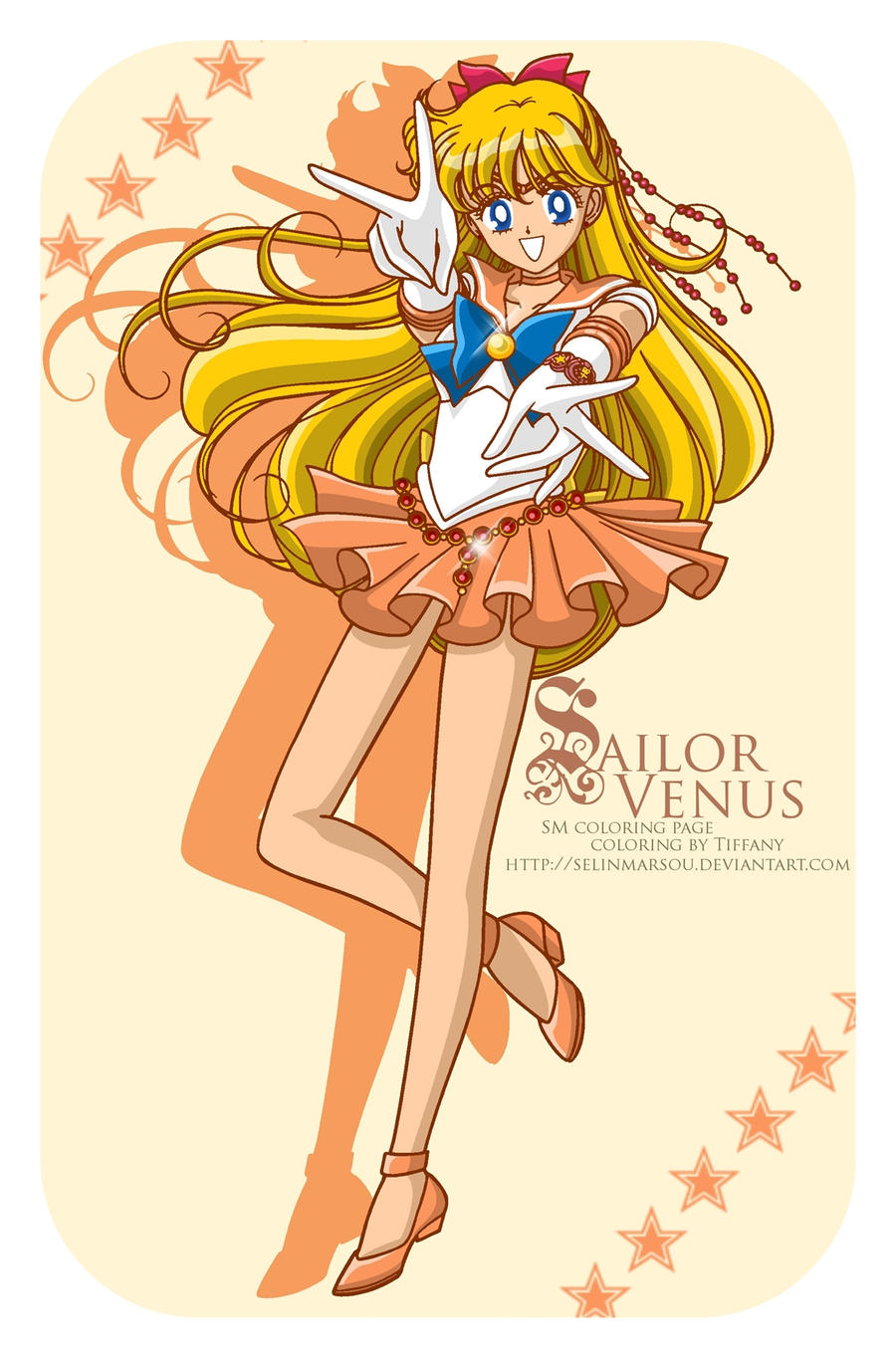 CP - Sailor Venus by selinmarsou