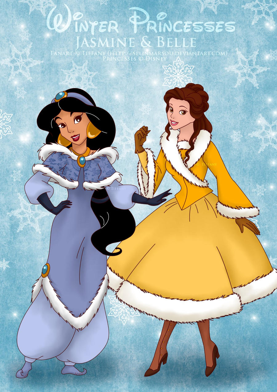 Winter Jasmine n Belle by selinmarsou