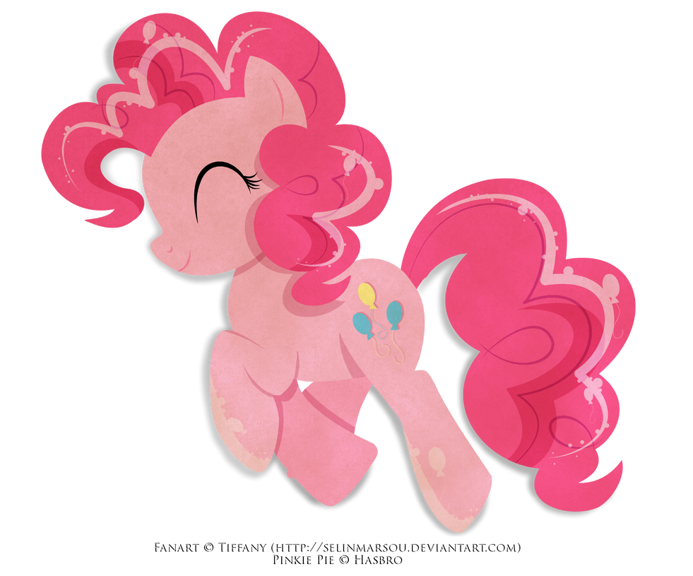 Paper Pony - Pinkie Pie by selinmarsou