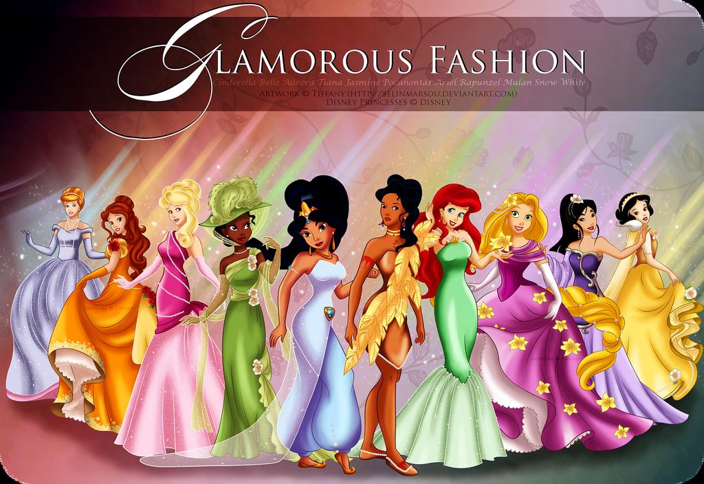 Glamorous Fashion by selinmarsou