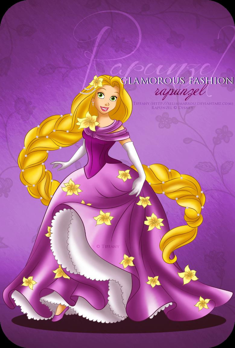 Glamorous Fashion - Rapunzel by selinmarsou