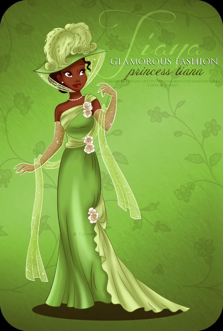 Glamorous Fashion - Tiana by selinmarsou