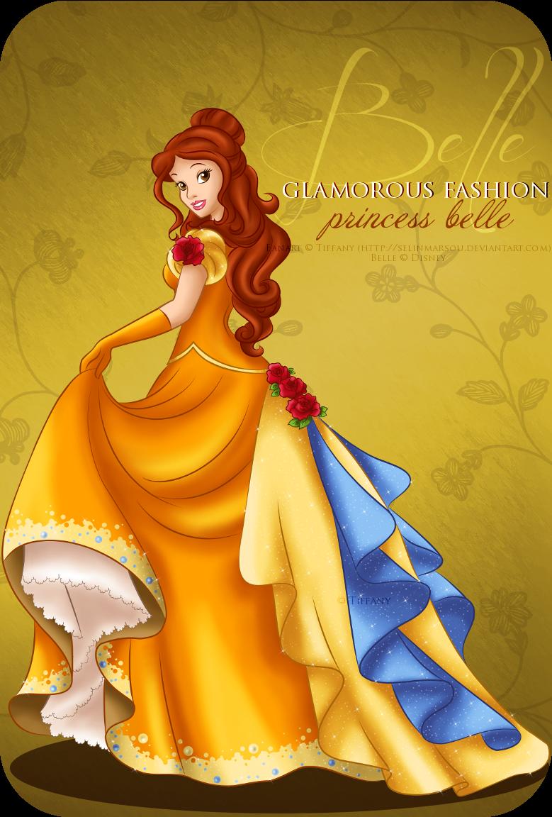 Glamorous Fashion - Belle by selinmarsou