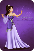 Glamorous Fashion - Mulan by tiffanymarsou