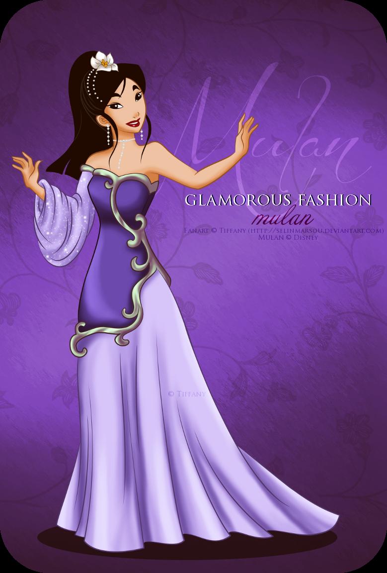 Glamorous Fashion - Mulan by selinmarsou