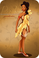 Glamorous Fashion - Pocahontas by tiffanymarsou