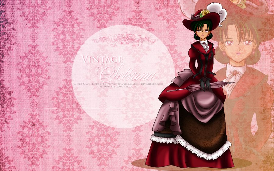 Vintage Lady Setsuna - wallpaper by selinmarsou
